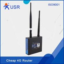 LTE 4G Router USR-G806 Bajo Precio Barato Montaje En Carril DIN