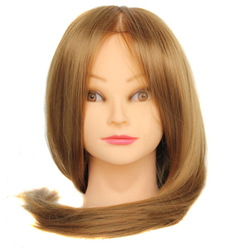 """20Hair Mannequin Head Hair Fake Hairdressing Doll Heads Training Manikin with Synthetic Hair Manik Cosmetology Educational Sale alileader 26"""" synthetic blonde black hair training mannequin head cosmetology hair salon hairdressing practice doll manikin head"""