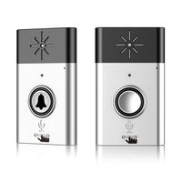 Wireless Voice Intercom Doorbell 2 way Talk Mobile interphone 1 unit Battery Operated 1 unit USB Charge AD039