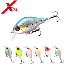 XTS Fishing Lures Professional Tackle Retail Quality Hard Baits 45mm 7.5g Crank Depth 2m For Pike And Bass Jerkbait 3528