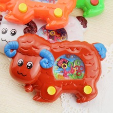 Free Shipping  Cartoon Sheep  Funny Water Machine Water Ferrule Game  Kids Children Classic Intellectual Toys Random Color