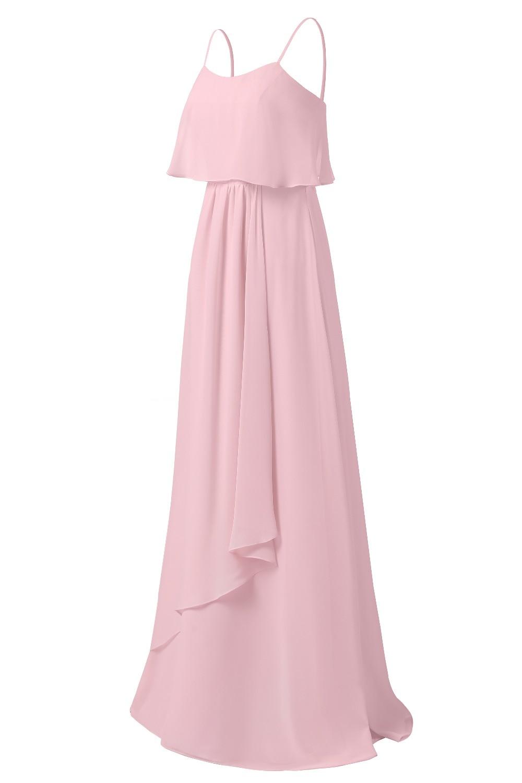 Robe Demoiselle d\'honneur Rosa Vestidos de dama de honor 2018 gasa ...