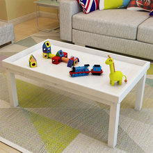 Children Tables kids Furniture solid wood Color sand table kids game table kindergarten educational toy table 60/80/120*60*55 cm(China)