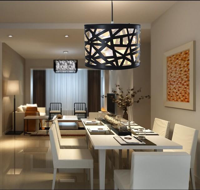 lustre moderno best de acr lico l mpadas led lustre sala de estar sala de jantar e27 90 v 260 v. Black Bedroom Furniture Sets. Home Design Ideas