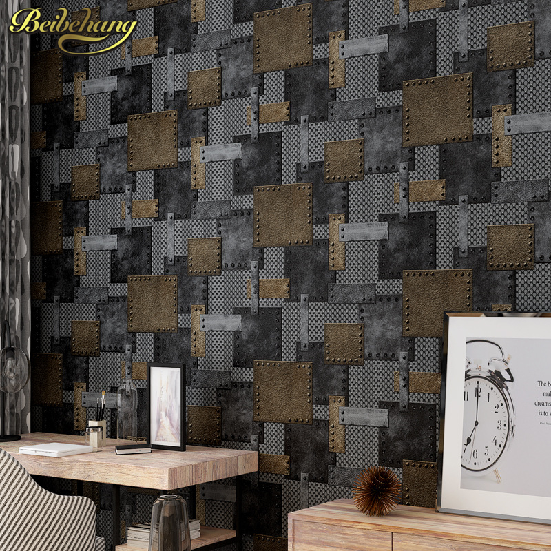 beibehang retro nostalgia 3d flooring mural wallpaper for walls 3d papel de parede para quarto wall papers home decor papel cont купить
