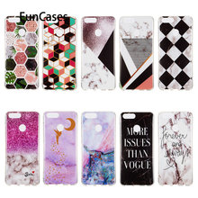 Soft TPU Phone Cases For funda Huawei Honor 7X Angel Cellphone Case sFor Huawei estojo Honor 7X Estuche Fitted Case Etui(China)