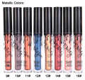 New Fashion Waterproof Long Lasting Liquid Lipstick Lip Gloss Makeup Beauty Matte Lip Tint Pen Lipgloss  blue gold brown Colors