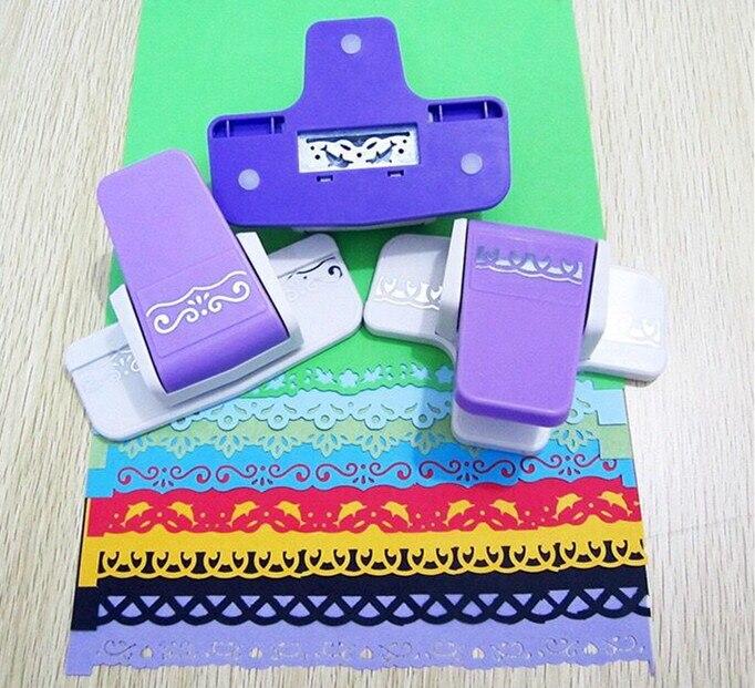 Hot Sale 1pcs Fancy Border Craft Punch Beauty Flower Design Foam