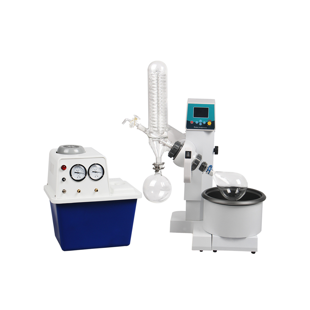 2L Motor Lift Rotary Evaporator with Vacuum Pump Water Circulation|evaporator|evaporator vacuum|evaporator motor - title=