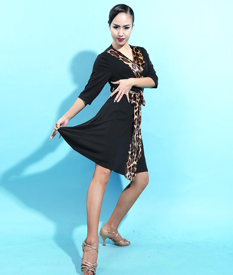 Women Black latin dance dress Samba Dress Professional Latin Dance Cha Cha dress