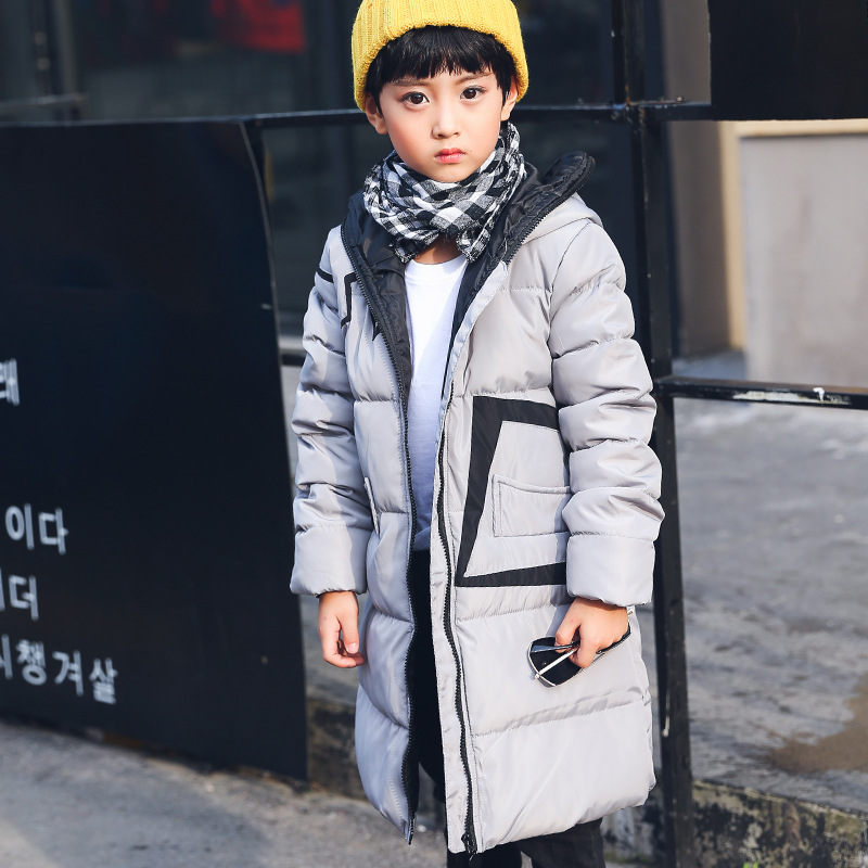 2017 New Winter Long Children Down Jackets for Girls Fur Big Boy Coat Thick Duck Down Feather Jacket for Boys Outerwear Clothes winter down jacket for girls boy coat children s down jackets for boys winter jackets kids outerwears