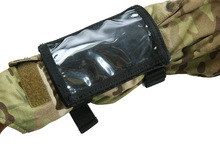 3Color Airsoft Tactical Outdoor EDC Built-in Map Pack Arm Camping Bag Wrist Length Hiking Pouch Accessory Backpack BK/TAN/OD/FG