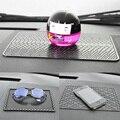 Accesorios interiores del coche Nuevo estilo gafas de Sol a prueba de Alfombra antideslizante mat coche para el teléfono/GPS/Pad silicona esteras antideslizantes del coche almohadilla antideslizante