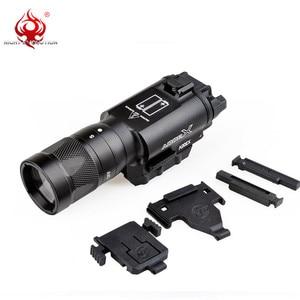 Image 2 - Night Evolution Surefir X300 Tactical Pistol Flashlight LED300 Lumens Fit 20mm Rail Strobe Pistol Light Weapon Gun Light NE01010