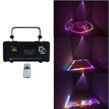 Compact Laser Engraver Disco Light Christmas Shows Dj Equipment DMX Stage 15W Full Color Animation Pattern