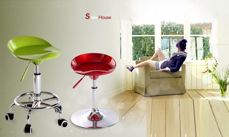 American country bar stool Hair salon for moving and rotating chair Nightclub stool retail and wholesale free shipping