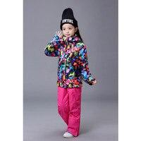 Counter Genuine Snow Gsou Children S Ski Clothing For Girls Ski Clothing
