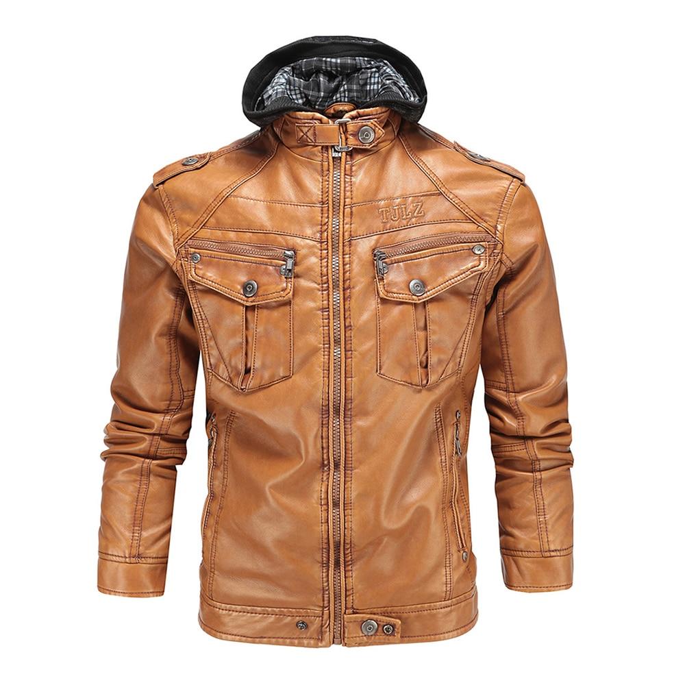 Benkia Hommes Moto D'équitation Veste Vintage Rétro rUOxZrz