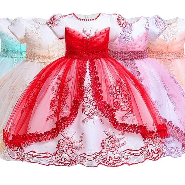 Christmas Princess.New Fashion Christmas Princess Of Girls Dresses Reception Formagirls Clothes Ball Gown For Girl Dress Knee Length Style 2 12year