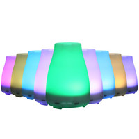 HTSS01 9 Ultrasonic Humidifier LED Light 7 Color Change Dry Protect Ultrasonic Essential Oil Aroma Diffuser