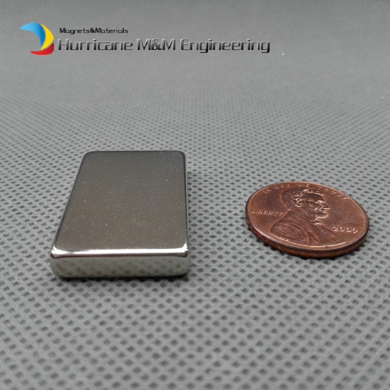 4 pcs NdFeB Magnet Block 30x20x5 mm Strong Neodymium Permanent Magnets Rare Earth Magnets Grade N42 NiCuNi Plated ndfeb magnet block 40x25x10 mm super strong magnet neodymium permanent magnets rare earth magnets grade n42 nicuni plated