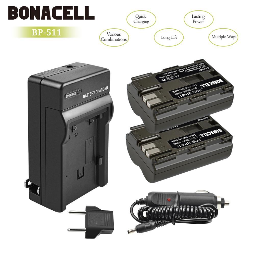 batteria per canon BP-511 Canon PowerShot G1 G2 G3 G5 G6 Pro1 Pro 90 IS