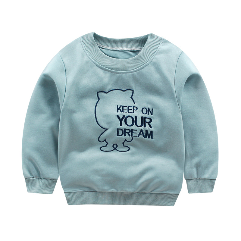 [Unini-yun]New 2018 Children's Sweatshirt 12M-6 Years Kids Hoodies For Girls&Boys Cotton Baby Kids Clothes Pullover For Boys 1