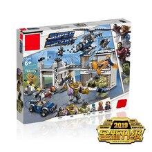 2019 New 783Pcs Avengers 4 Endgame Compound Battle Set Compatible Legoing Marvel 76131 Model Building Block Bricks Boy Toys Gift