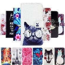 Akabeila For Huawei Mate 20 Lite Case Flip Wallet PU Leather Cover Phone Cases Nova 3i 3 i Nova3 Nova3i 6.3 P Smart