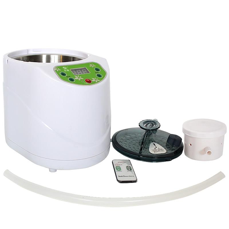 Home vapor generator  110V 220V EN/BSI  Plug 1000W Capacity 2L Steamer Pot Spa for steam sauna Wooden barrel saunaHome vapor generator  110V 220V EN/BSI  Plug 1000W Capacity 2L Steamer Pot Spa for steam sauna Wooden barrel sauna
