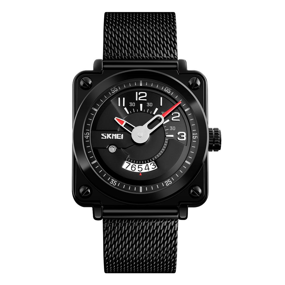 SKMEI Square Lovers Watch Casual Fashion Innovative Men