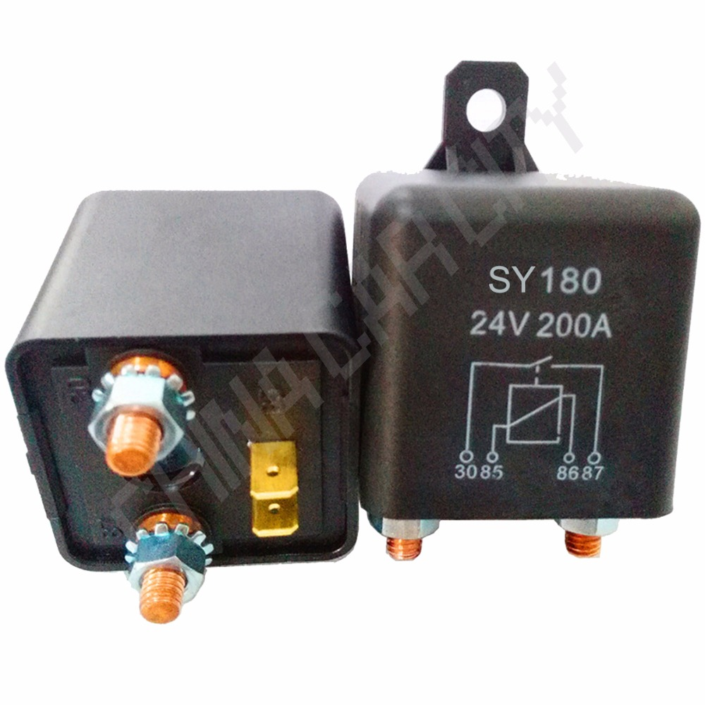 цена на Car Truck Motor Automotive high current relay 12V 200A 2.4W Continuous type Automotive relay car relays R20B