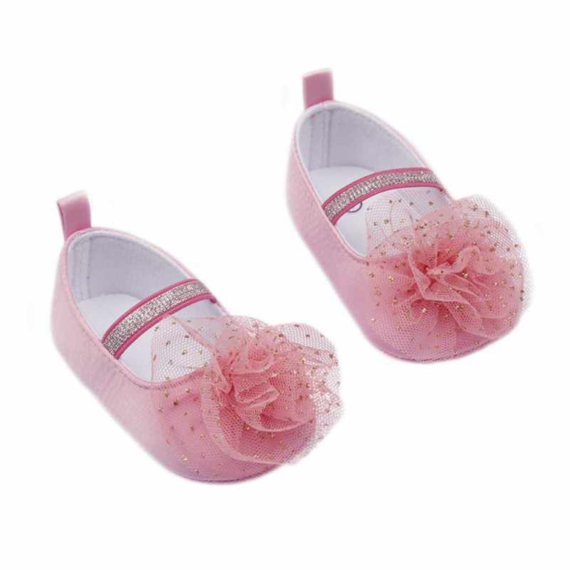 Buty dla dzieci maluch antypoślizgowe śliczne buty w kwiaty sukienka buty 0-) do 1 lat lat, jeśli miękkie dziecko buciki buty
