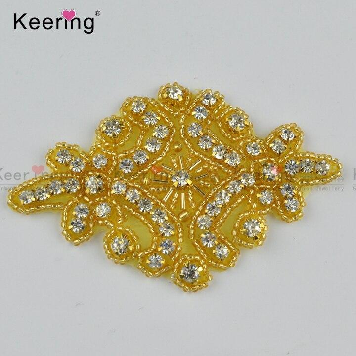 Parche de hierro moldeado de diamantes de imitación de alta calidad - Artes, artesanía y costura