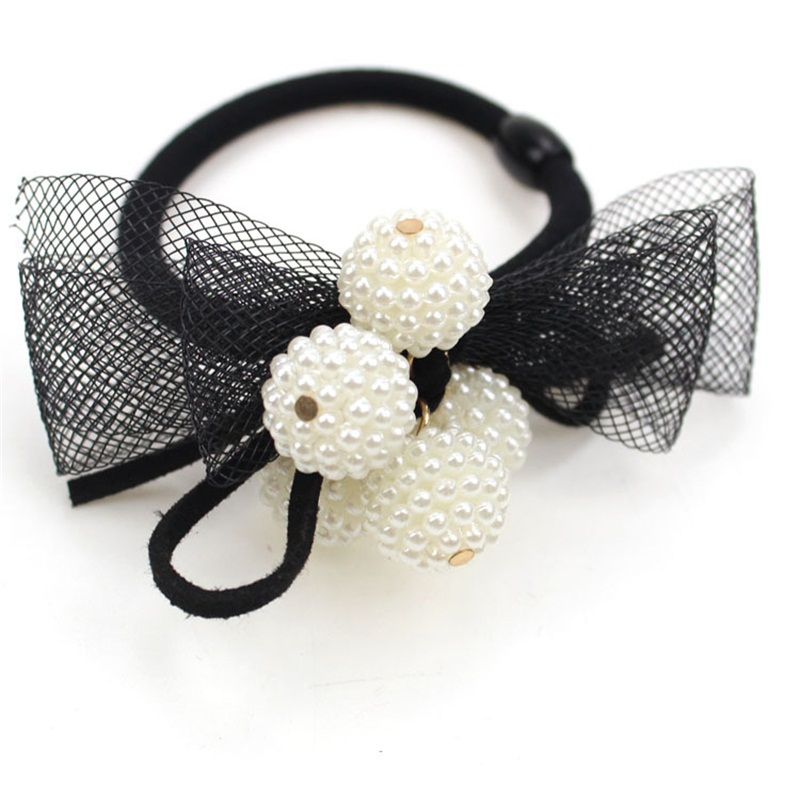 1PCS hot 4 balls Headwear Hair Accessories For Women Headband,Elastic Bands For Hair For Girls,Hair Band Hair Ornaments For Kids hot sale hair accessories headband styling tools acessorios hair band hair ring wholesale hair rope