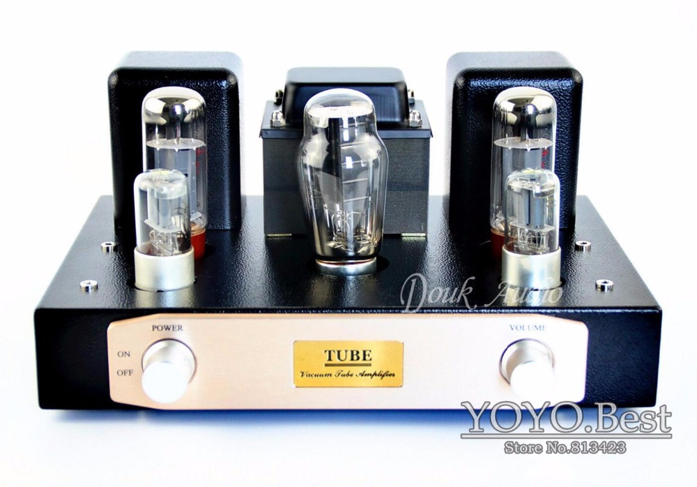 BOYUN HiFi EL34 Valve Tube Amplifier 2.0 Channel Stereo Single-ended Class A amp 12W*2 Finished Product 110~240V appj smart wifi 6j1 6p4 vacumm tube amplifier mini hifi stereo integrated desktop amp finished product