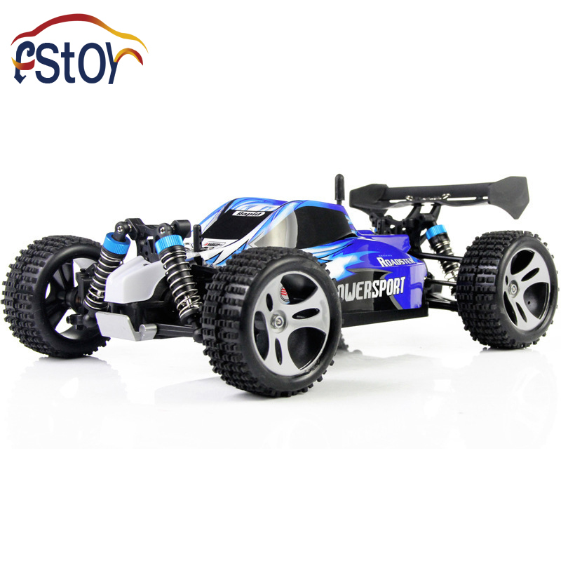 ФОТО 1:16 Full scale Off road RC Car 2.4GHZ  buggies 50KM/h 4CH high speed vehicles SUV remote control Stunt Drift cars for kid toys