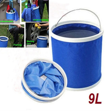 Youwinme 9L Car Washing Collapsible Bucket Auto Storage Folding Barrel Water Container Outdoor Camping Fishing