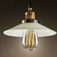 22 36CM Classical Pendant Light Retro Copper Lamp Nostalgic Pendant American Channel Light