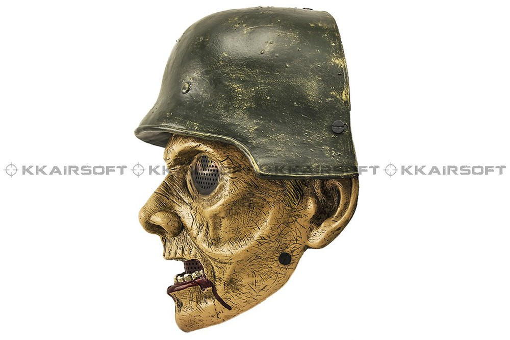 Paintball Party Mask Airsoft Wire Mesh World War II Zombie Full Face Mask Bd8872