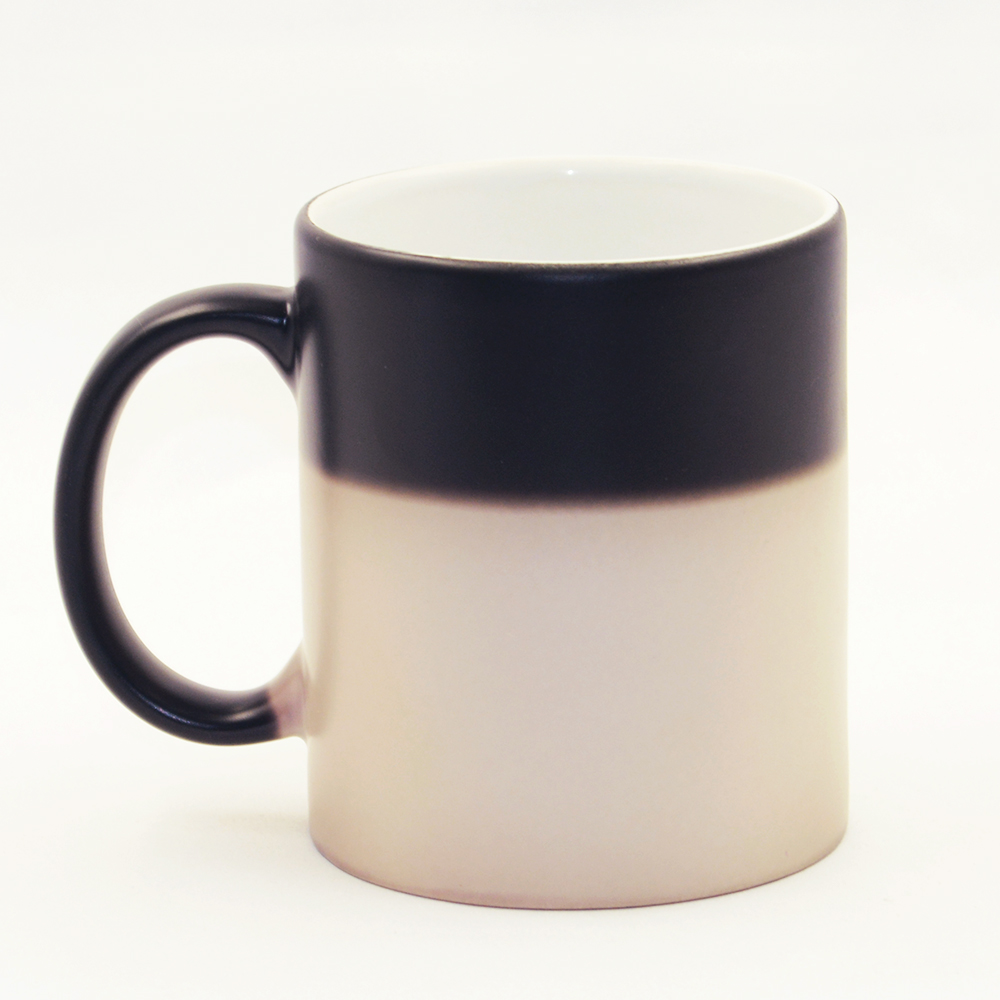 Online color invert picture - Printing You Name Photo Holiday Gifts Custom Made Mugs Color Changing Cups Magic Heat Sensitive Coffee Mug Tea Ceramic Logo Cup