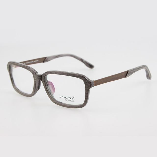 acetate and wood glasses frame high quality acetate frame metal ...