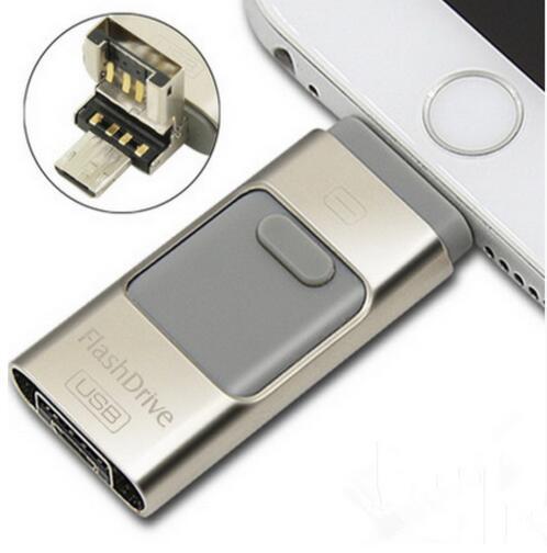 Для iPhone 6 6 s Plus 5 5S ipad Pen drive HD memory stick двойного назначения мобильный OTG Micro USB Флэш-Накопитель 16 ГБ 32 ГБ 64 ГБ 128 ГБ горячие