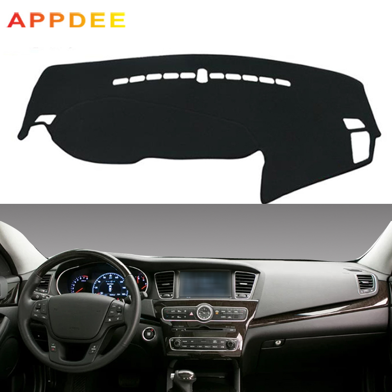 Car Dashboard Cover For Kia Cadenza K7 2010 2011 2012 2013 2014 2015 2016 Dash Mat Pad Carpet Dashmat Sun Shade Pad Car Styling