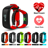 Fuster 2017 Newest Blood Pressure And Heart Rate Monitor Sport Fitness Smart Bracelet IP67 Waterproof Bluetooth