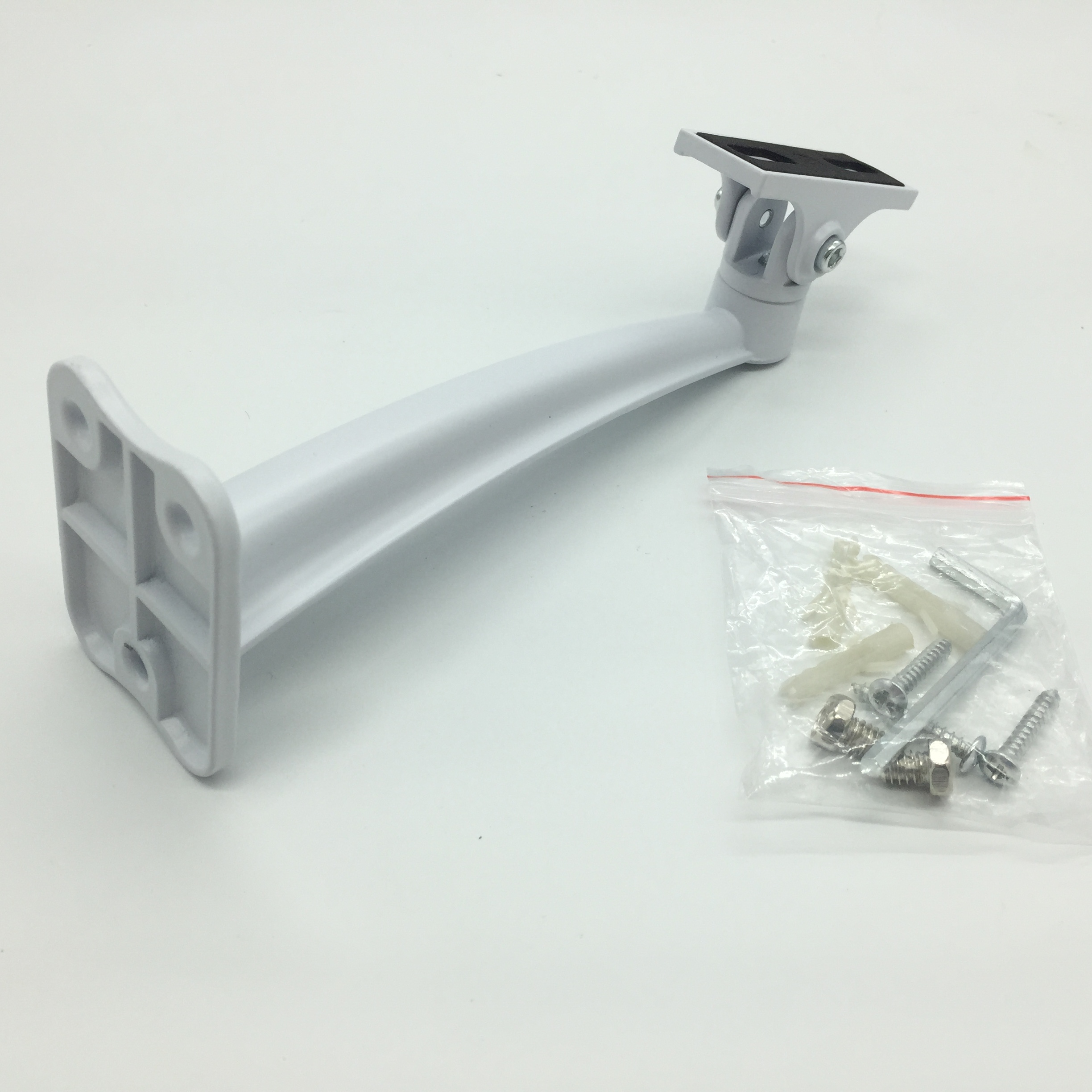 Metal Wall Mount Stand Bracket Rotating Holder For Bullet CCTV Security Camera
