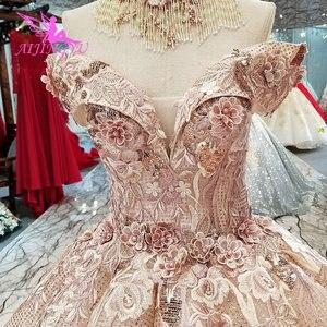 Image 2 - AIJINGYU suknie ślubne sklep internetowy kup suknie ślubne 2021 2020 sklep muzułmanin matka suknia ślubna biała sukienka balowa