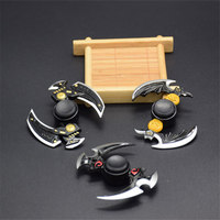 New Tri Spinner Fidget Toys Metal Fidget Stress Wheel Hand Spinner Anti Stress Wheels Shocker For