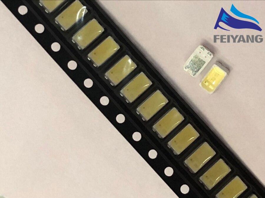 100pcs For LG LED LCD Backlight TV Application Middle Power LED LED Backlight 1W 6V 5630 Cool white LED LCD TV Backlight