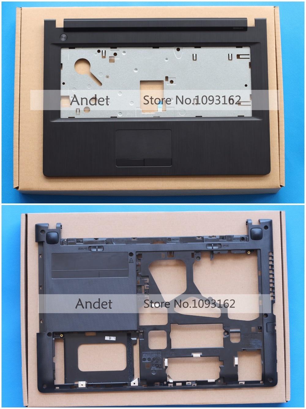 New Original For Lenovo G40 G40-30 G40-45 G40-70 G40-80 Z40 Z40-30 Z40-45 Z40-70 Z40-80 Palmrest Cover Upper Case+Bottom Base free shipping laptop bottom case for lenovo g40 70at g40 70am series replace cover d shell